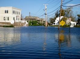 sag flood scene